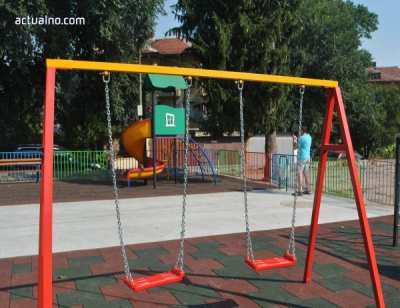 "The good example of several children from the village Konyavo, who volunteered to renovate the local park, impressed Mr. Avinoam Katrieli, President of Foundation ""I Love Bulgaria"""