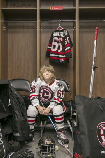Nine years old Bulgarian boy is a future super star in NHL