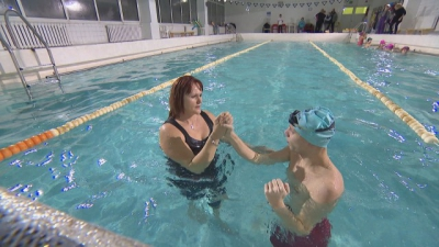 """We Believe in Good "": Villy and the strength to swim over the disease"