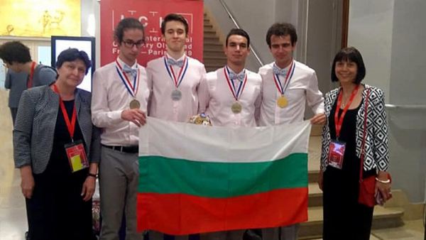 Bulgarian students win 4 medals at International Chemistry Olympiad
