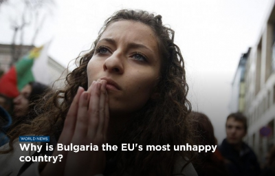 Why is Bulgaria the EU's most unhappy country?