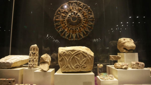 Exhibition at the National Archaeological Museum at Bulgarian Academy of Sciences shows Veliki Preslav Treasure